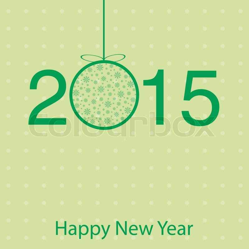 Template greeting cards for 2015 new year greetings vector stock template greeting cards for 2015 new year greetings vector stock vector colourbox m4hsunfo