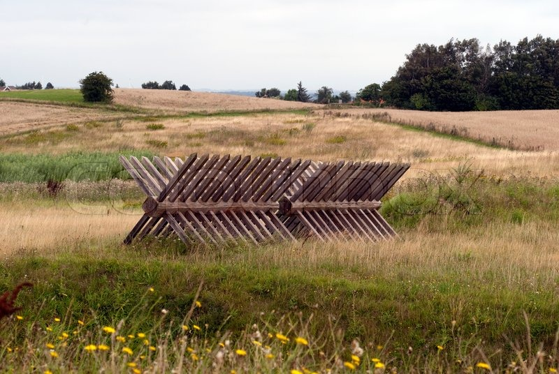 The Reconstructed Fortifications At Dybboel Banke In Denmark Wooden Palisades In The Open Landscape Image 1197794 on Castle Home Plans Medieval