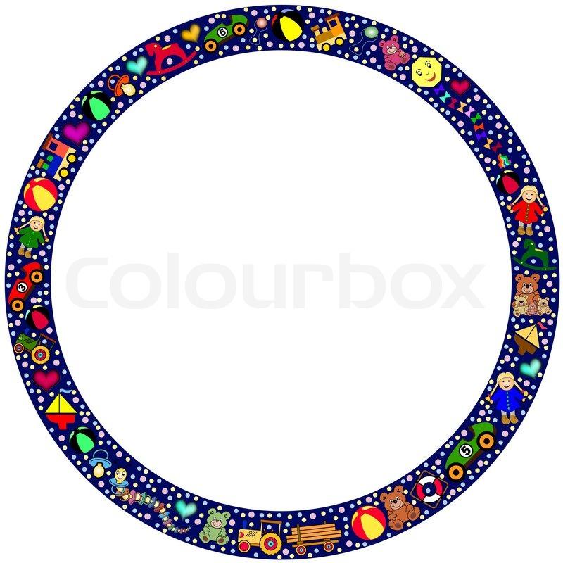 Clipart, rahmen, klein   Vektorgrafik   Colourbox