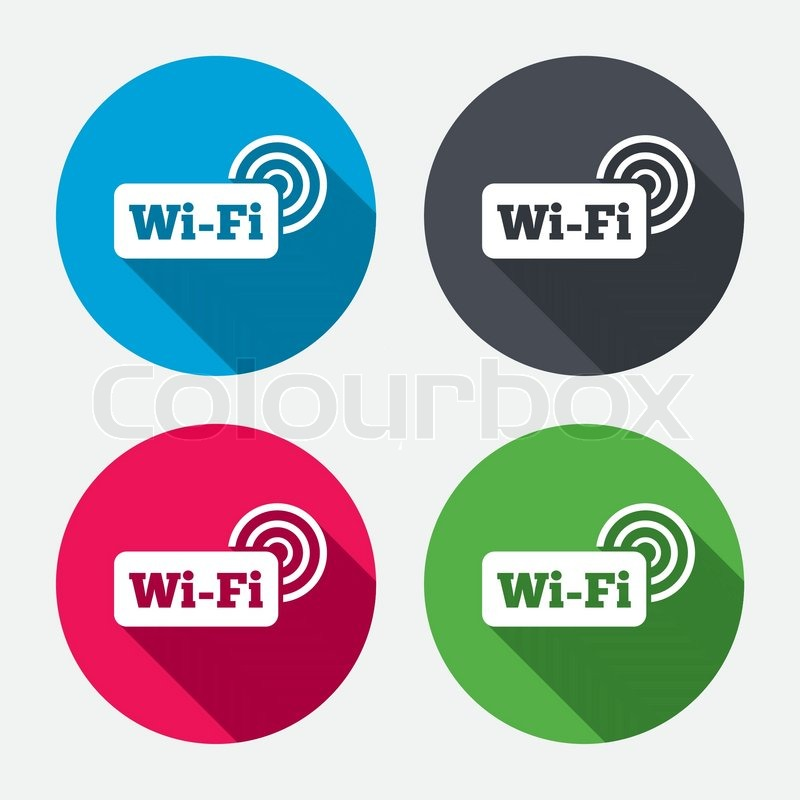 free wifi sign wifi symbol wireless network icon wifi zone