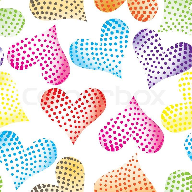 Texture Heart Vector Graphics