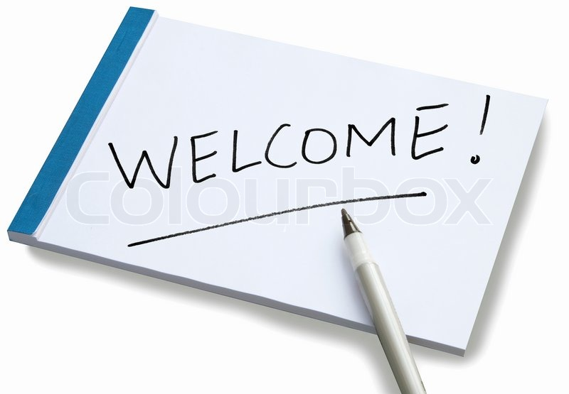 how to write a welcome note