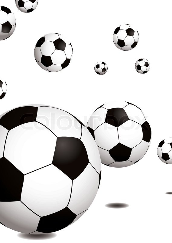 Stock vektor af fodbold clipart grafik