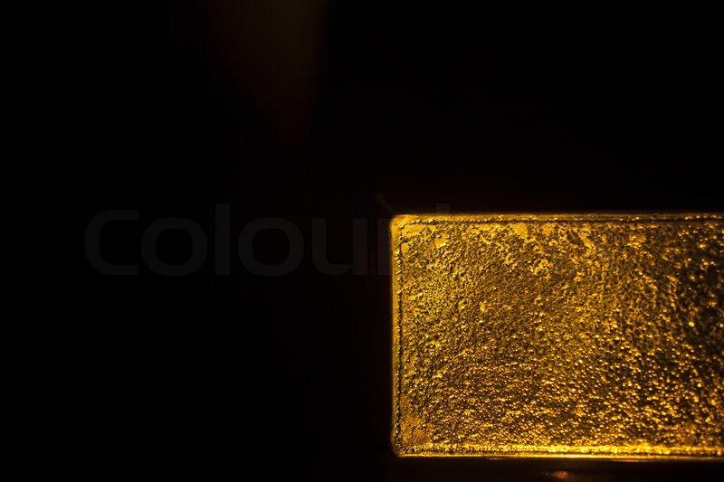 gold bar black background - photo #9