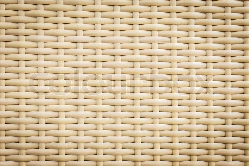 Plastic Rattan Weaving Texture Stock Photo Colourbox