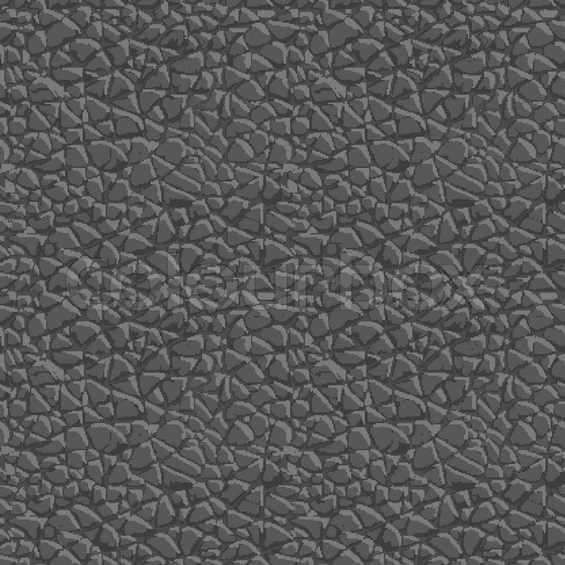 Elephant Skin Seamless Pattern Vector Stock Vector