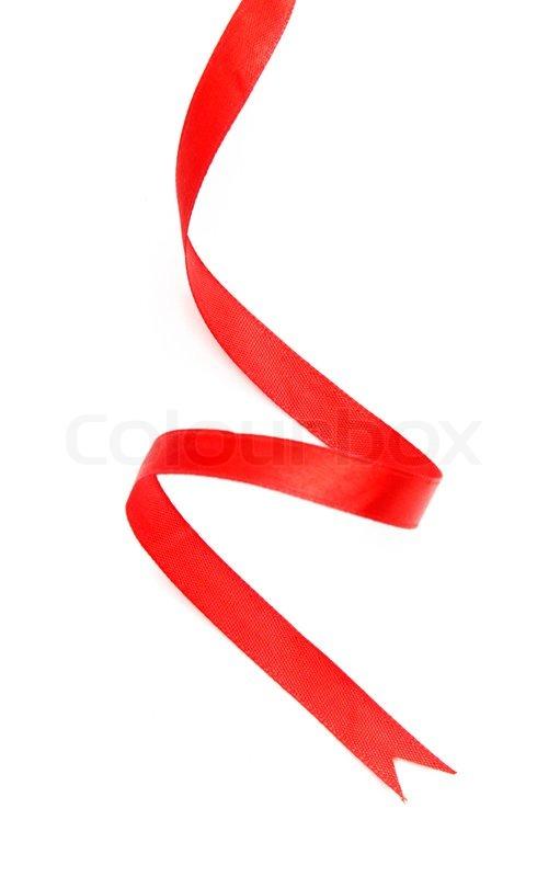 Red Ribbon Stock Photo Colourbox