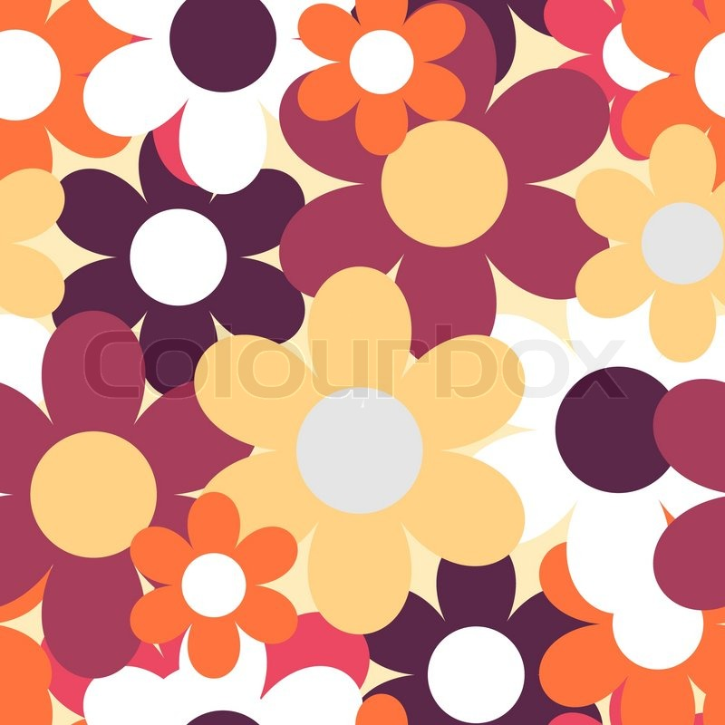 Patterns in Nature Flowers Flowers Nature Seamless