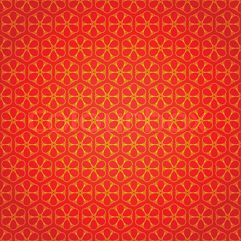 national chinese seamless pattern with flowers chinese new year 2015 bright beautiful vector illustration background vector