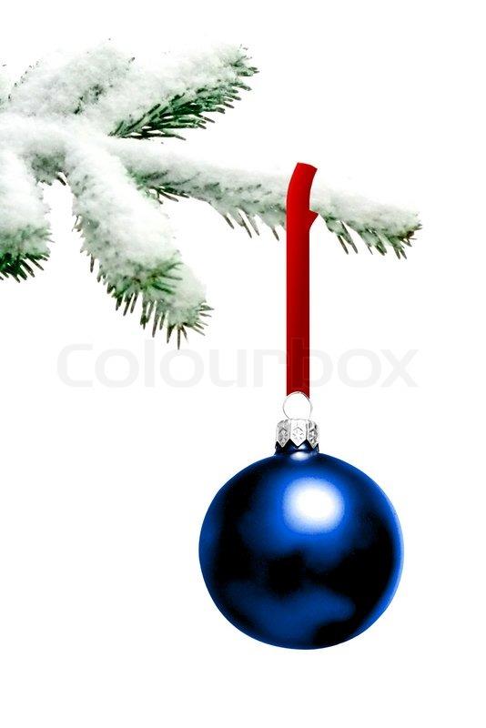 weihnachtsbaum mit spielerei stockfoto colourbox. Black Bedroom Furniture Sets. Home Design Ideas