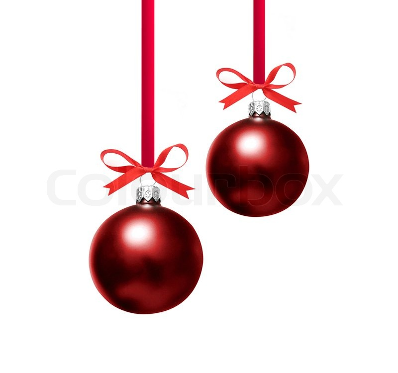 Christmas Tree Decorations To Colour