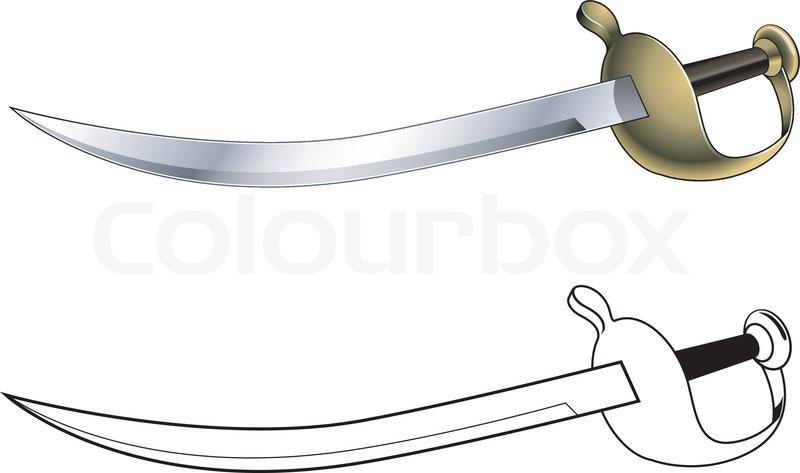 Pirate Cutlass Sword