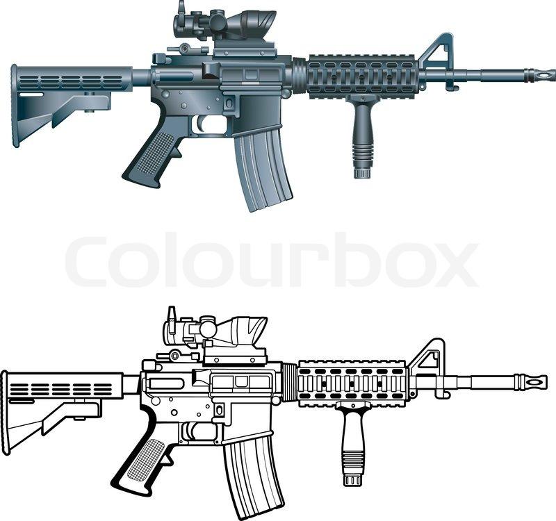 Rifle Custom Decals