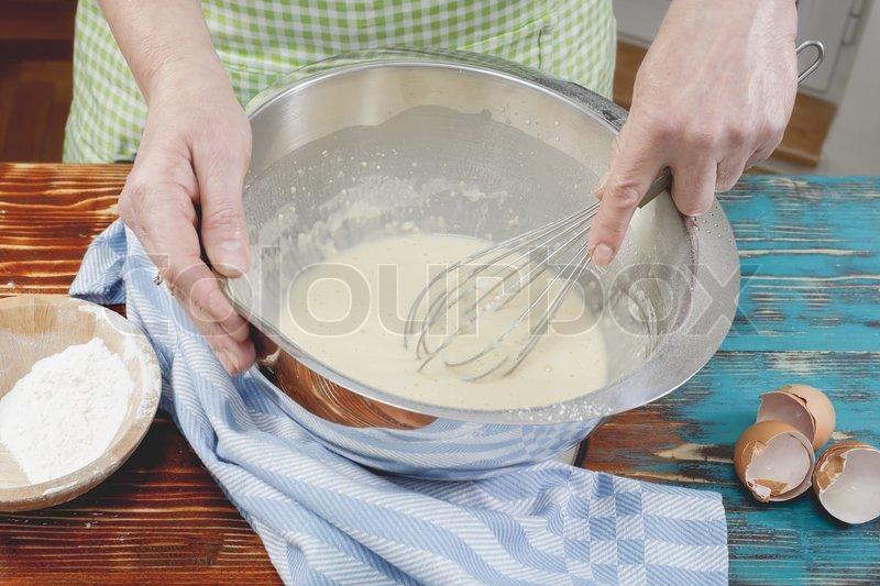 Фото как сделать поэтапно блины