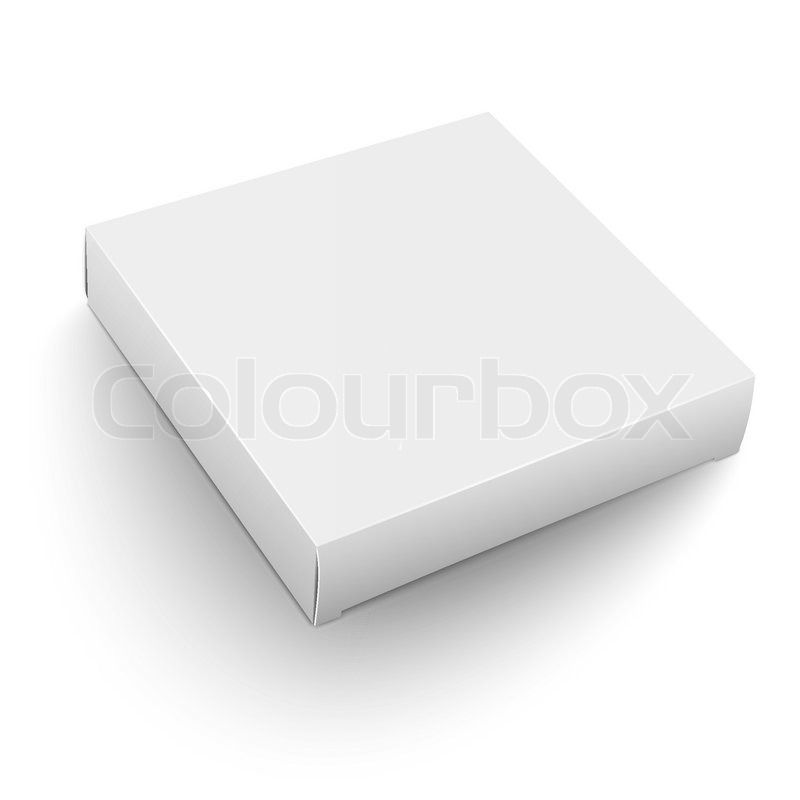 Blank flat square box template lying on white background packaging blank flat square box template lying on white background packaging collection vector illustration stock vector colourbox pronofoot35fo Gallery