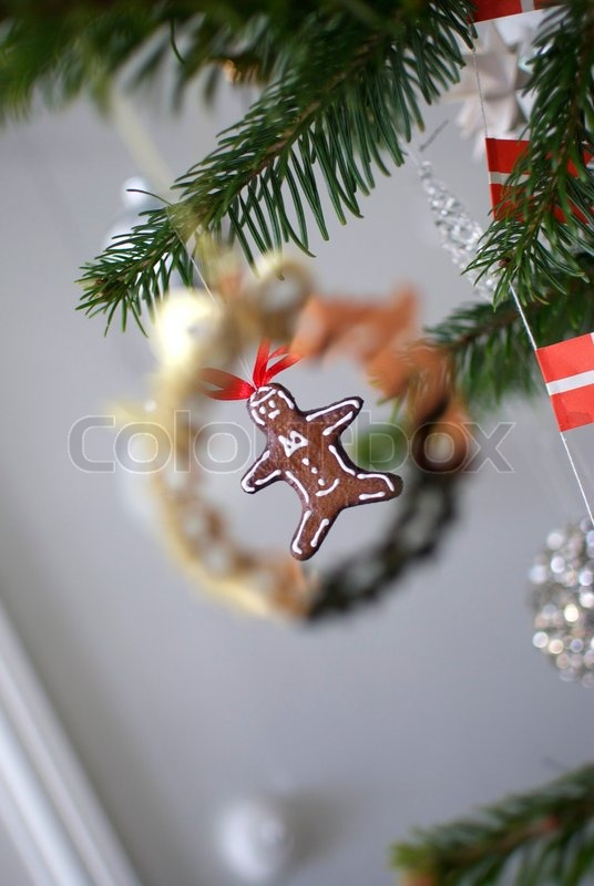 Stock image of 'christmas, brown cocky, blurred close up'