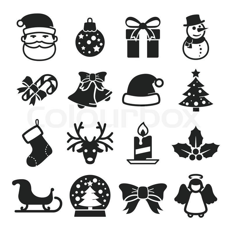 Weihnachten, bandl, neu | Vektorgrafik | Colourbox