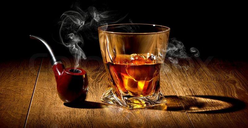 girl drinks whisky smokes - photo #36