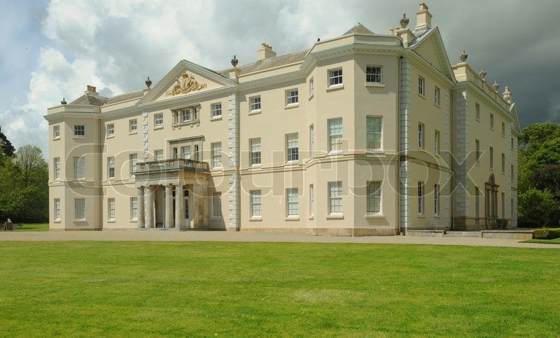 Palladian house at saltram near plymouth devon england for Palladian home designs