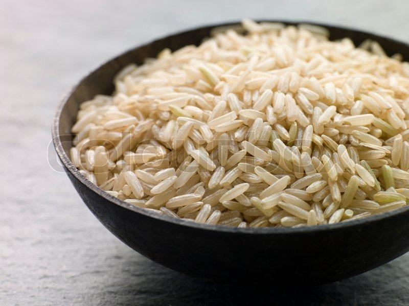 kogte luftige basmati ris.