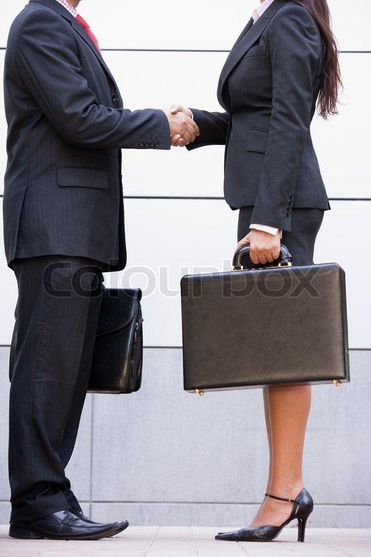 Freigestellte bild von business meeting au erhalb moderne for Modernes buro