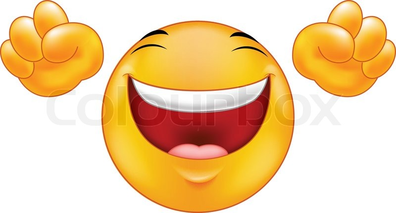 Happy Smiling Emoticon Cartoon Vector 12363941 on happy cartoon mouth