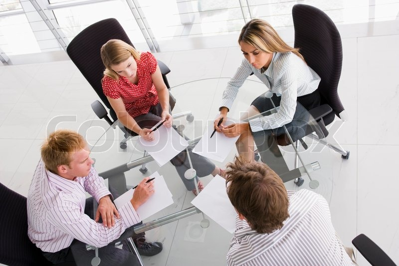 Stock image of 'office, team, meeting'