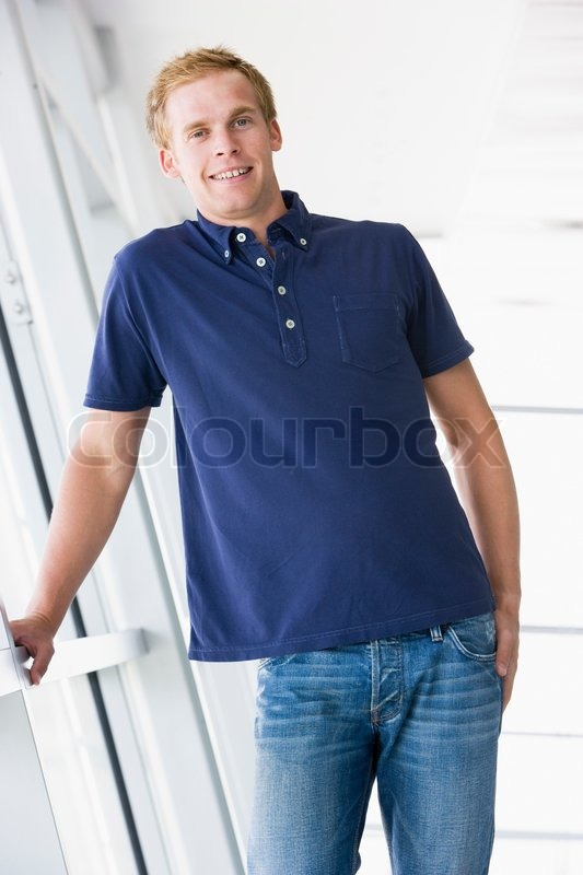 Stock image of 'office, man, casual'