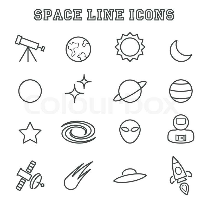 Symbols Of Space Clipart Library