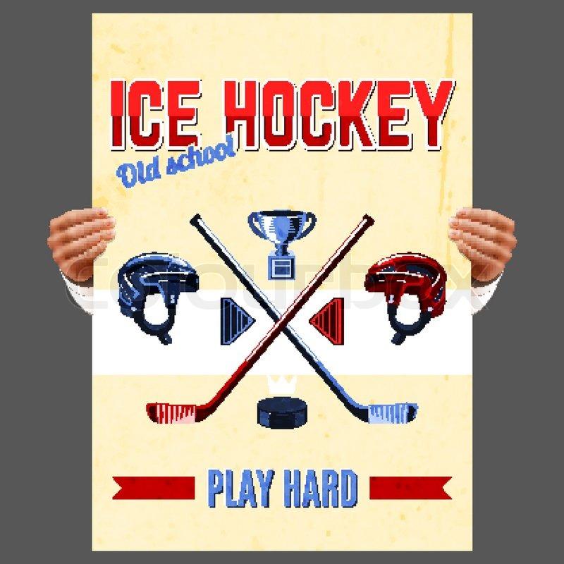 Хоккейные плакаты