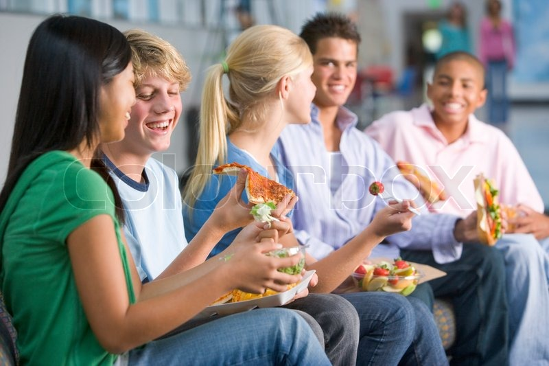 Think, How to eat healthy as a teen