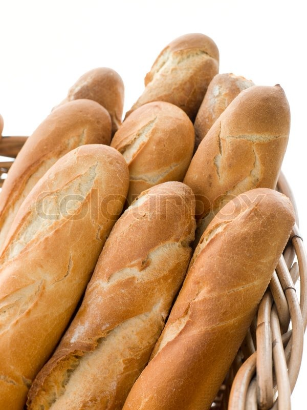 Stock image of 'baguette, french, food'