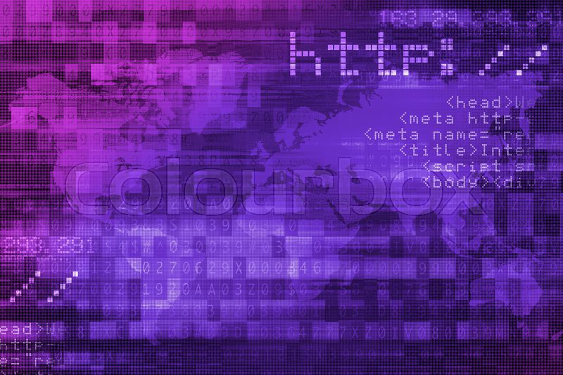 online internet safety purple digital background concept stock photo colourbox