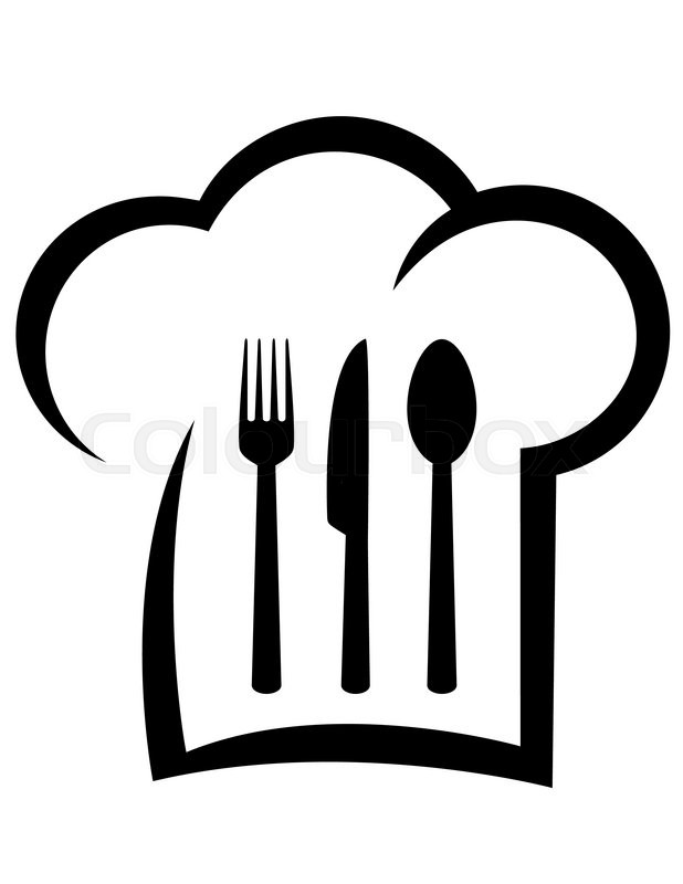 Menu also Chef Hat Clipart moreover Chef Hat With Spoon And Fork 1525079 furthermore Black Restaurant Icon With Chef Hat Vector 12480907 likewise Free Clipart 502. on chef spoon