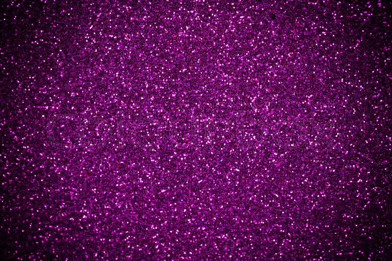 Purple-Pink glitter shines for texture or background, stock photo