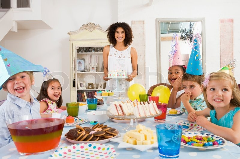 Food Birthday Filipino Stock Photo Colourbox
