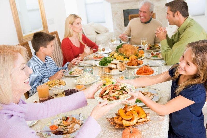 A Caucasian Family Enjoying Their Stock Photo Colourbox