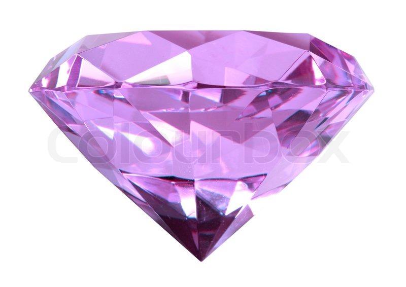 Singe purple crystal d...
