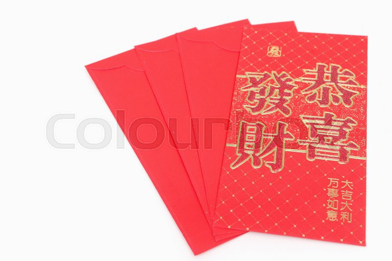 Red envelope,Chinese New Year Money Red Packet. | Stock ...