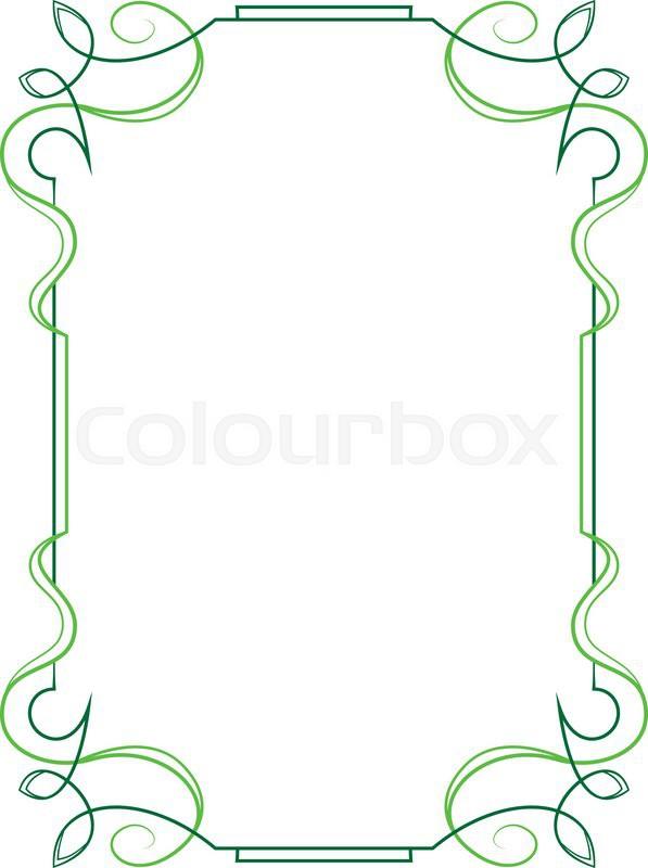 Vertical Oval Frame Clipart Elegant vector vertica...