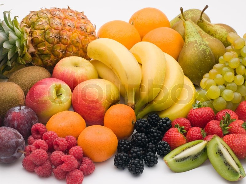 Stock image of 'fruit, nutrition, berries'