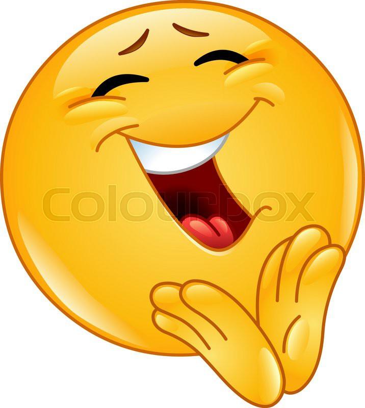 Smilies, smiley, clipart   Stock-Vektor   Colourbox