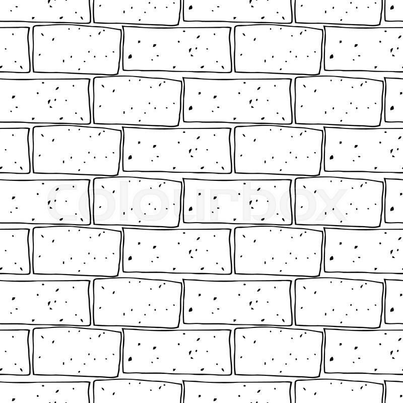 Tile On Concrete Block Wall Modern Block Brick Wallpaper