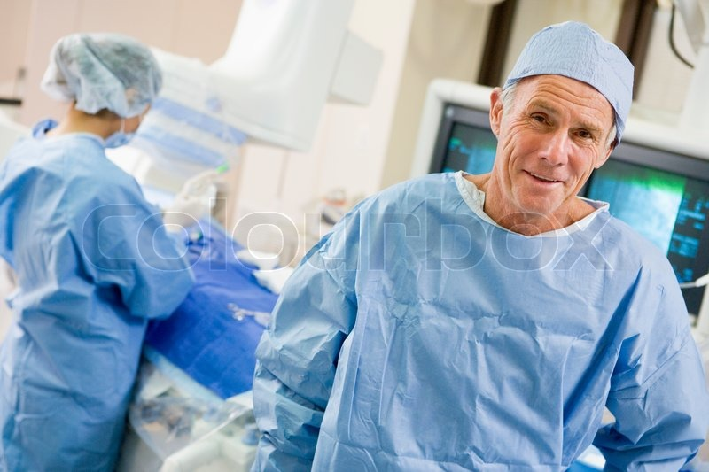 Stock image of 'Surgeons In The Operating Room'