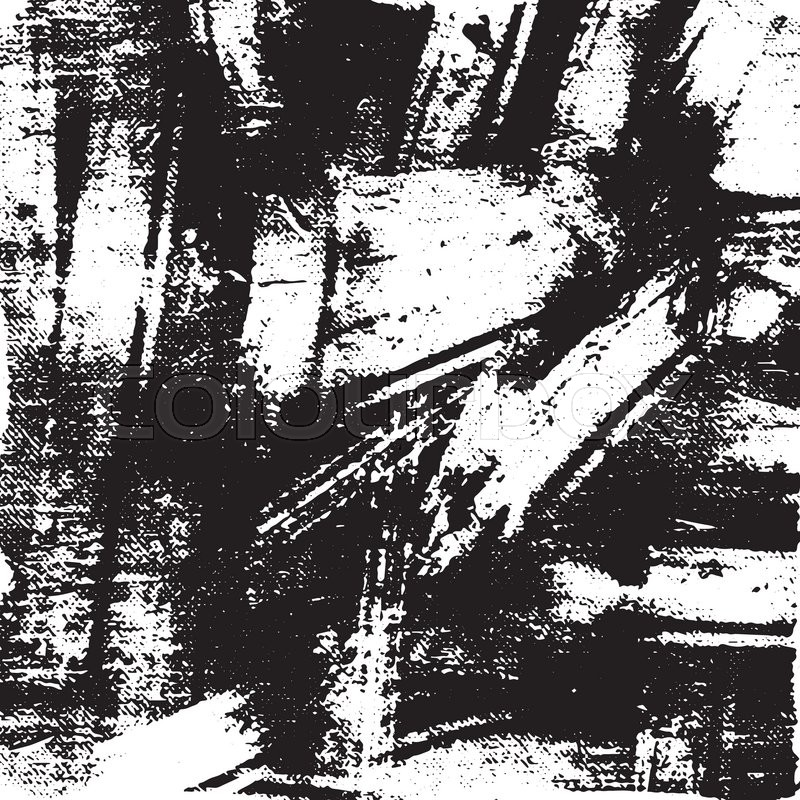 Black And White Vector Grunge Texture For Creating