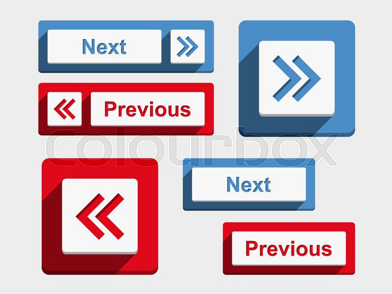 Previous Next Next And Previous Buttons