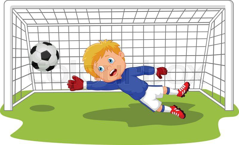 how to draw a cartoon soccer net