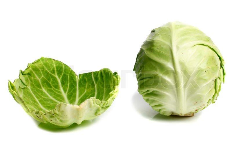 листья белокочанной капусты в пищу