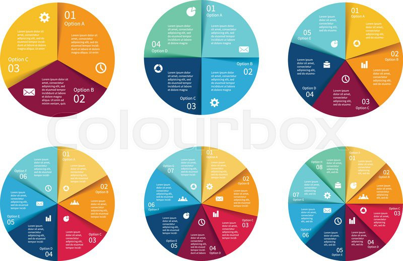 Vector circle infographics set template for cycle diagram graph stock vector of vector circle infographics set template for cycle diagram graph ccuart Images