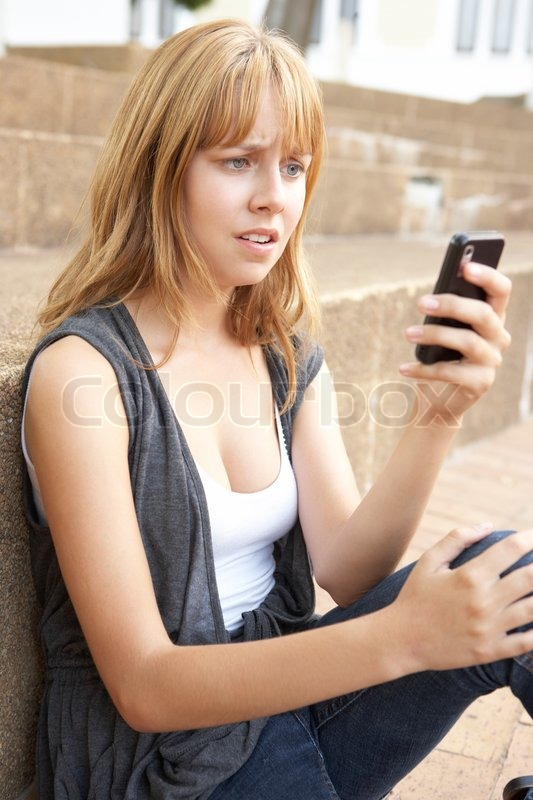 Happy teen girls taking selfie in park with mobile phone Stock Photo             PRLog